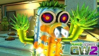 Zombies Destroy Plants Secret Weapon The Tactical Luke (Plants vs Zombies Funny Moments)