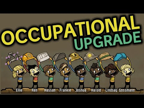 OCCUPATIONAL Upgrade Vorschau - Oxygen Not Included (deutsch