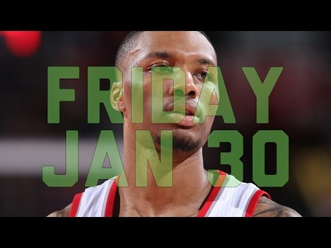 NBA Daily Show: Jan. 30 – The Starters