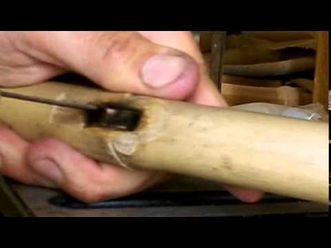 Native American Flute Making - Flute track specifics