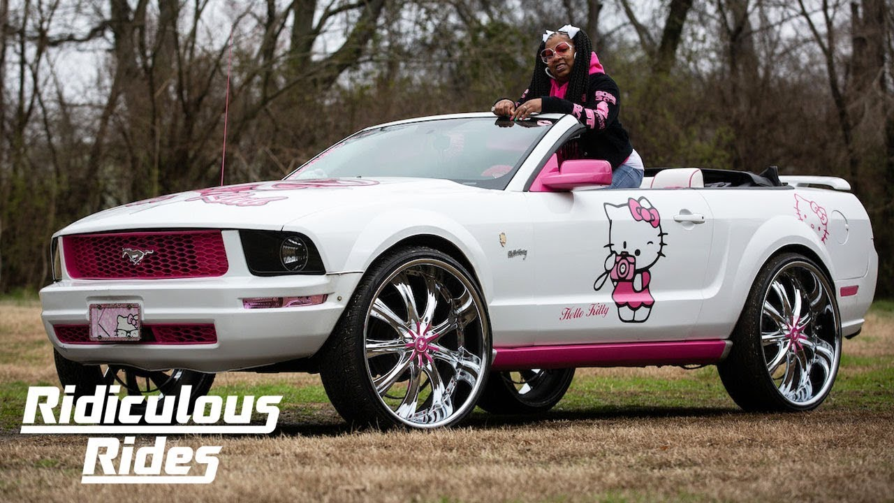 My Hello Kitty Mustang | RIDICULOUS RIDES