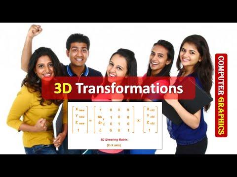Computer Graphics 3D Transformations