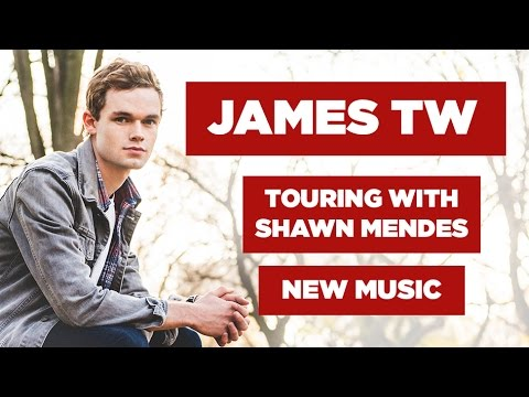 James TW Interview: New Music & Touring With Shawn Mendes