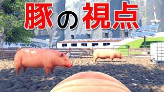 豚の視点で一生を追うゲームの結末がヤバすぎる