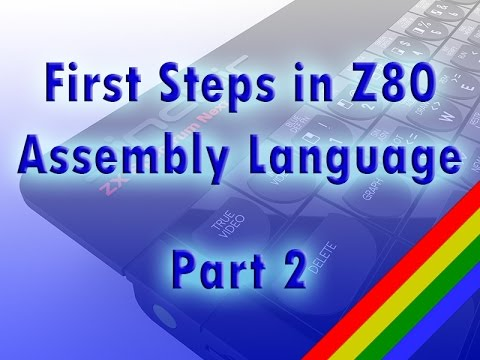 Z80 assembly language tutorial, part 2: text and graphics (ZX Spectrum)