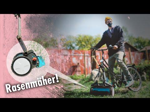 Rasenmäher mit Fahrradantrieb | Kliemannsland