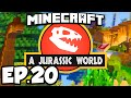 Jurassic World: Minecraft Modded Survival Ep.20 - NEW SMELTERY!!! (Rexxit Modpack)