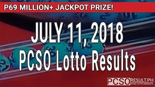 PCSO Lotto Results Today July 11, 2018 (6/55, 6/45, 4D, Swertres, STL & EZ2)