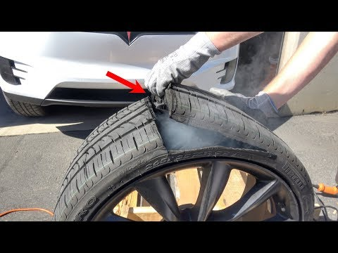 What's inside a Tesla Tire?