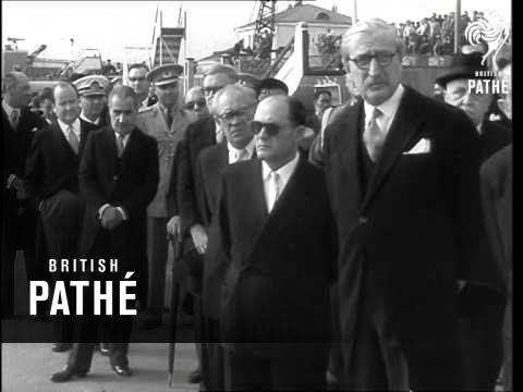 King Of Afghanistan In Moscow (1957)