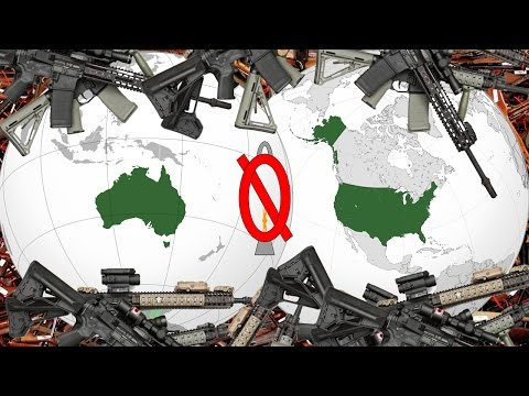 Would Australian gun control work in the USA?