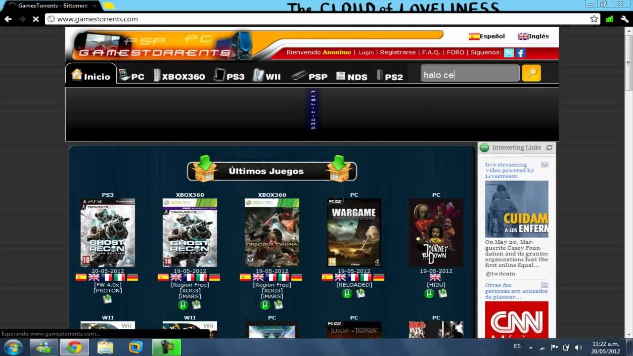 Como Descargar Juegos Gratis Para Wii Pc Xbox 360 Psp Nds Ps2 Y