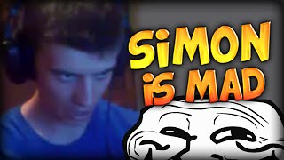 SIMON IS MAD ... AND TALKS BULGARIAN! (Minecraft Lucky Block Hunger Games #13)
