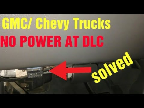 Chevy/Gmc No power at DLC Solved! - YouTubeYouTube