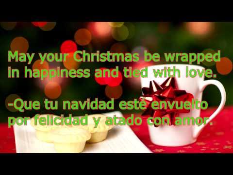 frases de navidad en ingles y español 2017 parte 1 de 4
