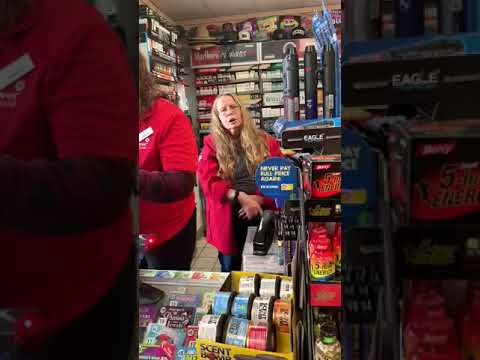 Gas Station worker Yelling at Woman speaking Spanish