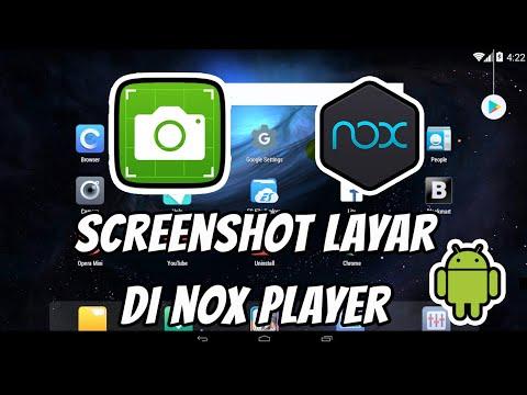 Cara Screenshot/Capture Gambar Layar di NOX Player Emulator Android di PC/Komputer