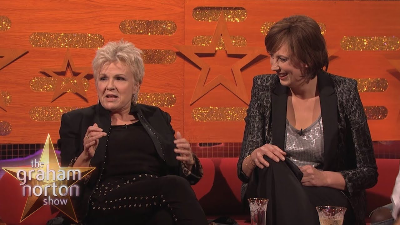 21fd7b861f4f69 Julie Walters and Miranda Hart Try Rapping - The Graham Norton Show ...