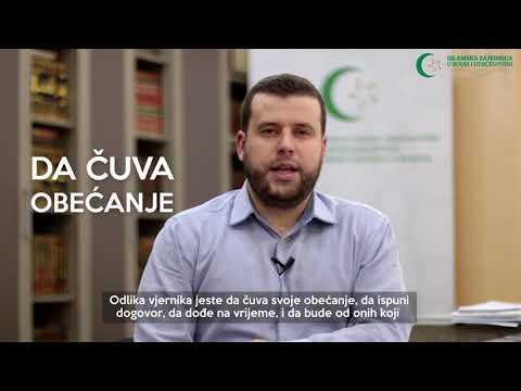 Poziv vjernicima (7) - Ispuniti ugovore - hafiz Ammar Bašić