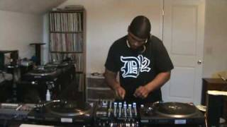 Classic Detroit Techno 1981 to 1991(The First Decade) Digging and Practicing Before a Gig (part 1)