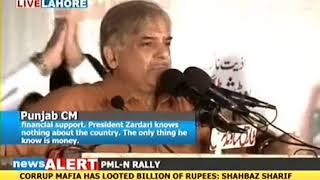 Shebaz(Showbaz) Sharif about Hanging Zardari.. Funny :D