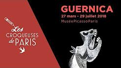 Les Croqueuses à l'exposition Guernica { Musée Picasso }