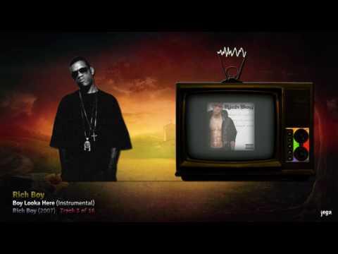 jegaTV. | down In Tha Dirty. | 14. Rich Boy - Boy Looka Here (Instrumental)