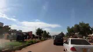 ウガンダ エンティベ空港~首都カンパラへタイムラプス