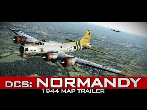 DCS: Normandy 1944 Map and Assets Pack Trailer