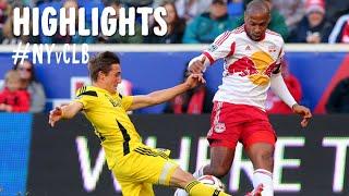 HIGHLIGHTS: New York Red Bulls vs. Columbus Crew | October 19, 2014