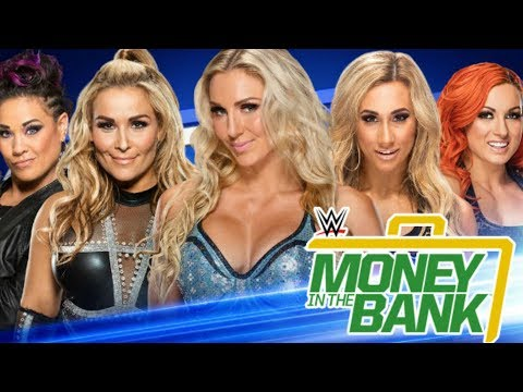 Women's Money In The Bank Ladder Match Officially Announced