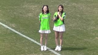 チュウブYAJINスタジアムで行われた、ガイナーレ鳥取vs松江シティFCにて...