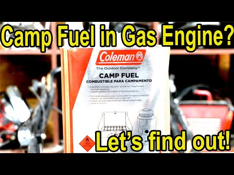 Will a gas engine run on Coleman Fuel? Let's find out!