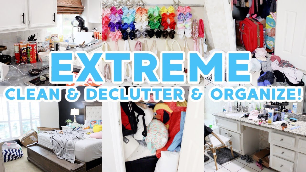 *EXTREME* CLEAN DECLUTTER & ORGANIZE WITH ME 2021! ALL DAY SPEED CLEANING MOTIVATION! SAHM ROUTINE!