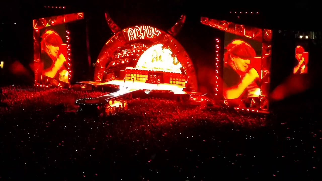 ac dc highway to hell live at at t park in san francisco ca youtube. Black Bedroom Furniture Sets. Home Design Ideas