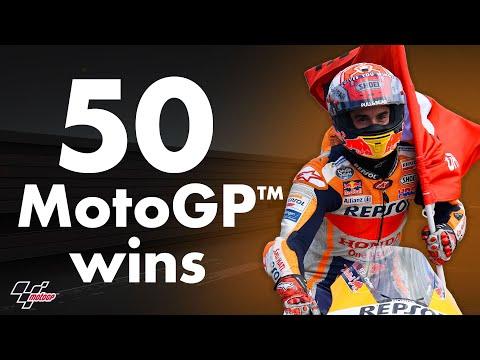Marc Marquez's 50 wins in MotoGP™!