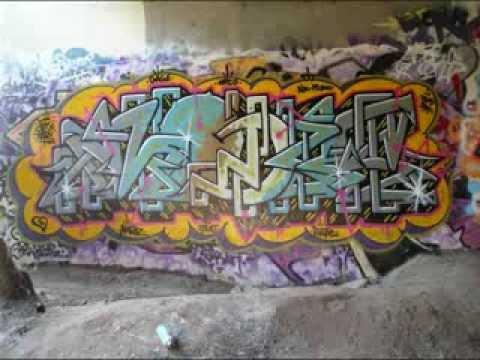 SAN DIEGO GRAFFITI - MODERFIRE RIP-FORMULA ABSTRACT