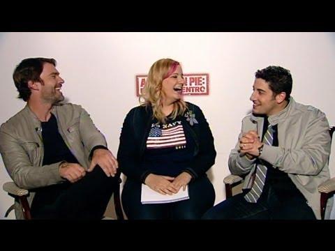 Entrevista a los protagonistas de American Pie: Sean Scott Williams y Jason Biggs