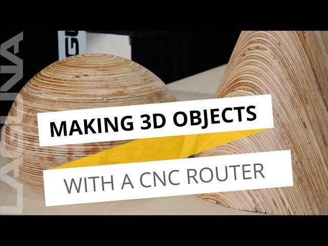 3D Object Making With A CNC Router - Check out how Wesley November made these 3D Objects!
