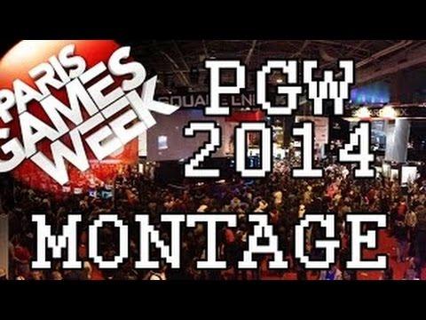 Montage visite du salon paris games week 2014 for Salon paris games week