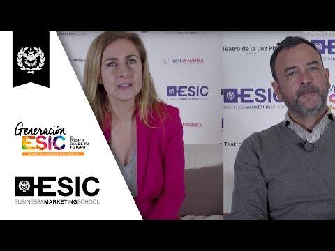 Generación ESIC - Juanjo González y Fernanda Delgado
