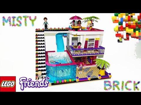Lego Friends Pop Star House by Misty Brick.