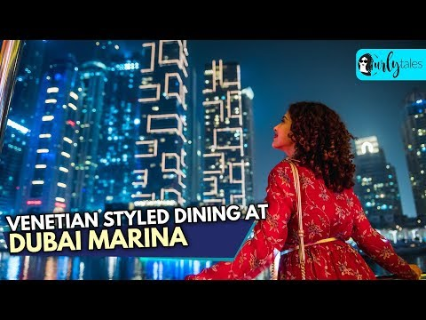 Experience Venetian Styled Dining At Dubai Marina Dinner Cruise | Curly Tales
