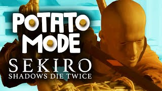 Sekiro's Graphics Receive A Deathblow | Potato Mode