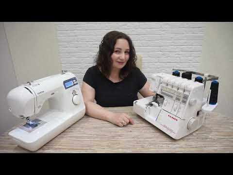 Отзыв: швейная машинка Brother Innovis 10 и Family MasterLock9000D плюсы и минусы