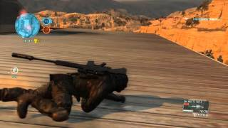 MGO 3 PC Scout Bounty Hunter gameplay compilation