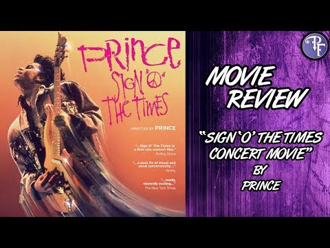 Prince: Sign 'O' The Times - Concert Movie Review - YouTube