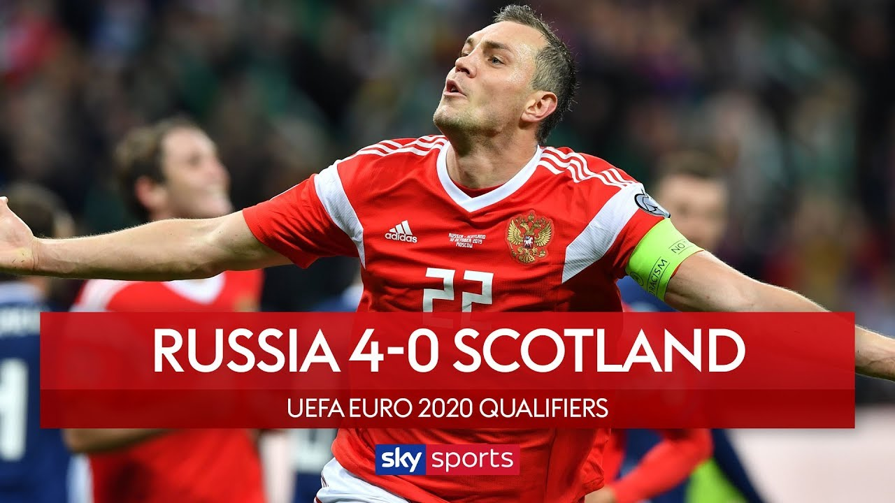 Scotland collapse in Russia | Russia 4-0 Scotland | UEFA Euro 2020 Qualifiers