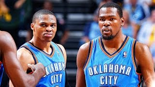 KEVIN DURANT RETURNS TO THE THUNDER