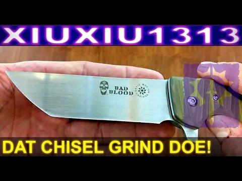 Hallmark Cutlery Bad Blood Yokai - David Mosier Design - Budget Tactical Knife
